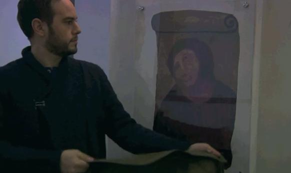 Jorge Blass restaura el Ecce Homo de Borja con magia