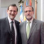 Encuentro de Mariano Rajoy con su doble en Chile