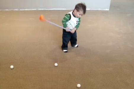 Futura promesa del golf
