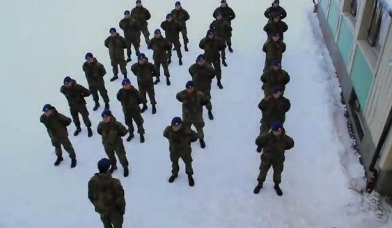 Harlem Shake (Versión del ejército noruego)
