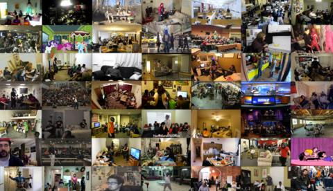 49 vídeos del Harlem Shake sincronizados