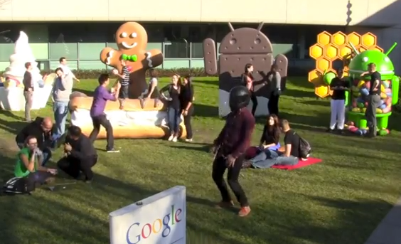 Harlem Shake de los trabajadores de Facebook y Google