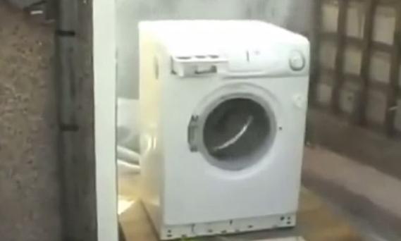 El Harlem Shake de la lavadora