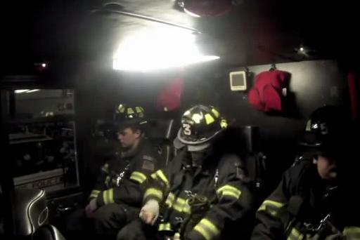 Harlem Shake, versión cuerpo de bomberos