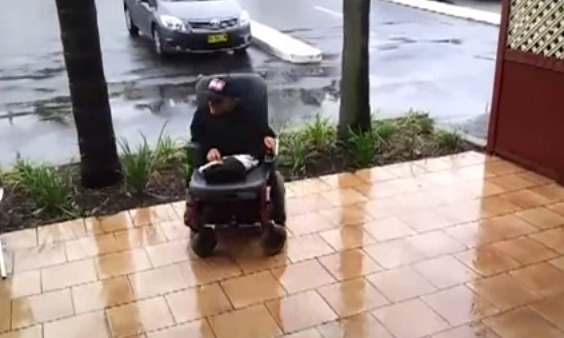 El Ken Block de la silla de ruedas