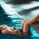 Eva Herzigova pasada por agua