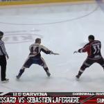 Esperábamos ver la mejor pelea de hockey sobre hielo de la historia
