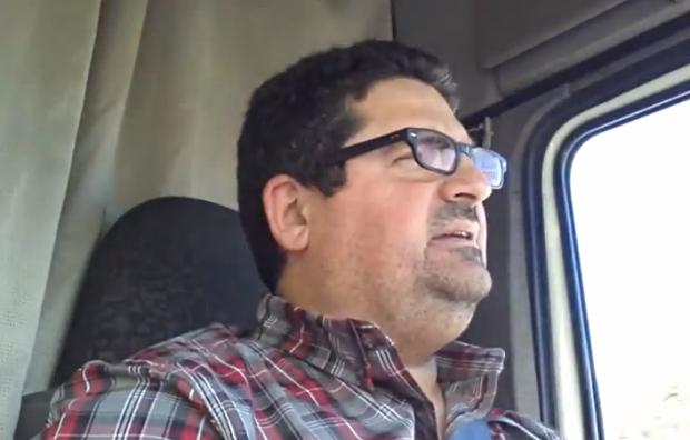 La triste realidad de España contada por un camionero