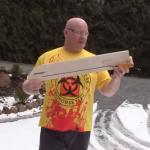 Se construye un rifle que dispara galletas Oreo