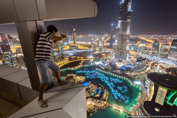 Fotografías de Dubai desde las azoteas de los rascacielos