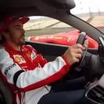 Pique entre Fernando Alonso y De la Rosa a bordo de dos Ferrari 458
