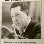 Hugo Chávez en 2004: En 2013 me voy