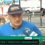 Juanjo, un skater de 76 años
