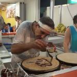 Julio, el rey del crepe en Mallorca