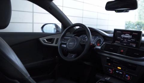 Audi Garage Parking Pilot, o cómo aparcar tu Audi desde el teléfono móvil