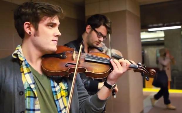 El 'I Knew You Were Trouble' de Taylor Swift a violín