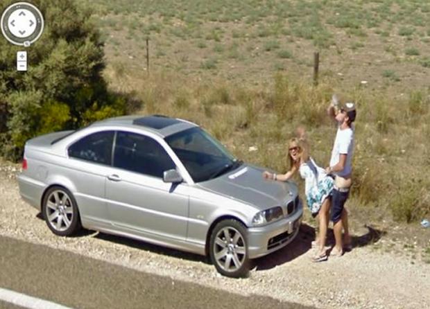 Google Street View pilla a una pareja echando un polvo en una carretera de Australia
