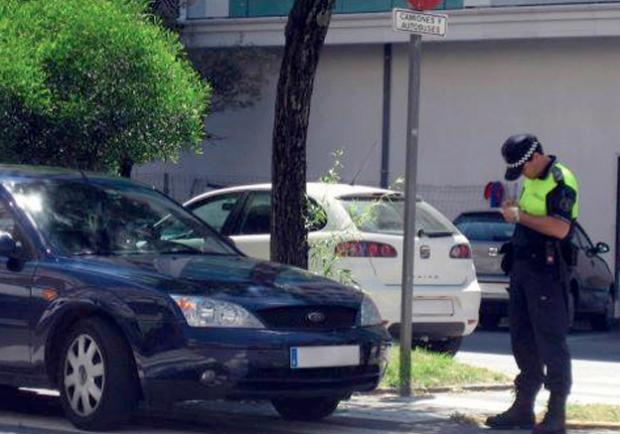 El jubilado y el policía