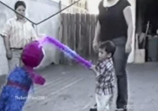 ¿A quién se le ocurre hacer una piñata de Spiderman?