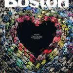Las zapatillas de los corredores del maratón de Boston crean un emotivo homenaje