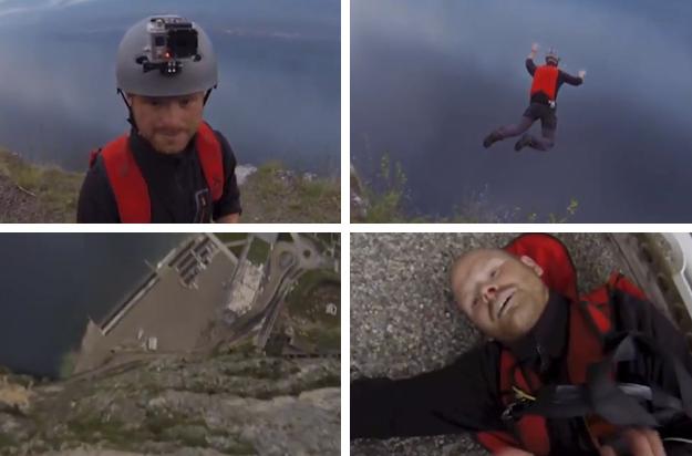 Sobrevive tras saltar desde 1.000 metros y fallarle el paracaídas