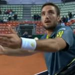 Viktor Troicki se vuelve loco y discute durante 4 minutos con el árbitro por un fallo en su contra
