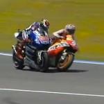 Vídeos del adelantamiento de Marc Márquez a Jorge Lorenzo en el GP de Jerez 2013