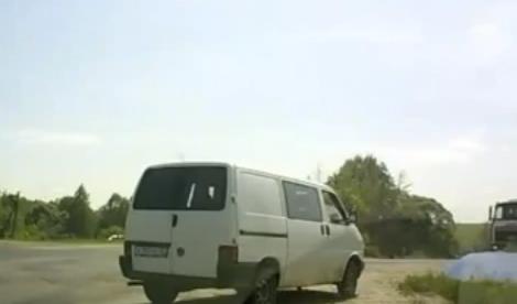 Uno de los accidentes más impresionantes grabados por una dashcam en Rusia