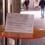 Un bar de Segovia con precios adaptados al nivel económico de los clientes