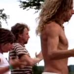 Una mujer crea un 'campo de fuerza' para detener a un hombre corriendo