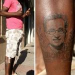 Se tatúa a Jordi Hurtado en la pierna