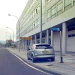 Radar móvil Policia Local Vitoria-Gasteiz Ford Focus gris