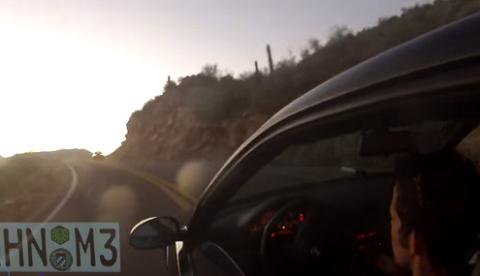 Se despista y cae con un su BMW M3 por el barranco