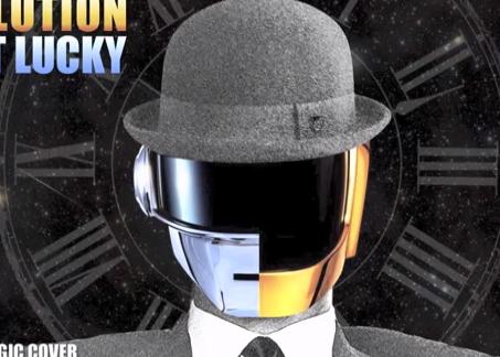 Evolución de la canción Get Lucky de Daft Punk desde 1920 hasta 2020