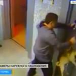 Un hombre salva a un perro de morir ahorcado en un ascensor