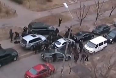 La policía ucraniana detiene a 7 peligrosos delincuentes