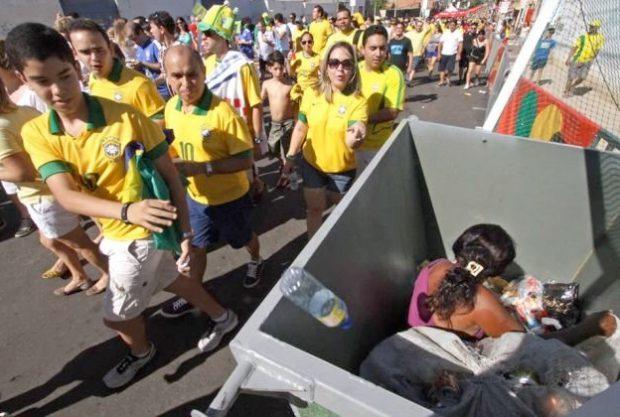 Por esto están en contra del Mundial de Brasil