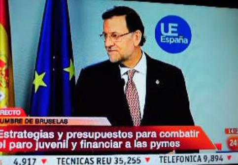 Rajoy sobre Bárcenas: ''La segunda ya tal''