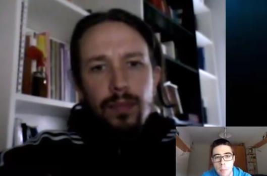 Salvador Raya entrevista al profesor Pablo Iglesias