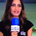 Sara Carbonero: ''Ocho goles de Uruguay a Tahití y ninguno de Cavani''