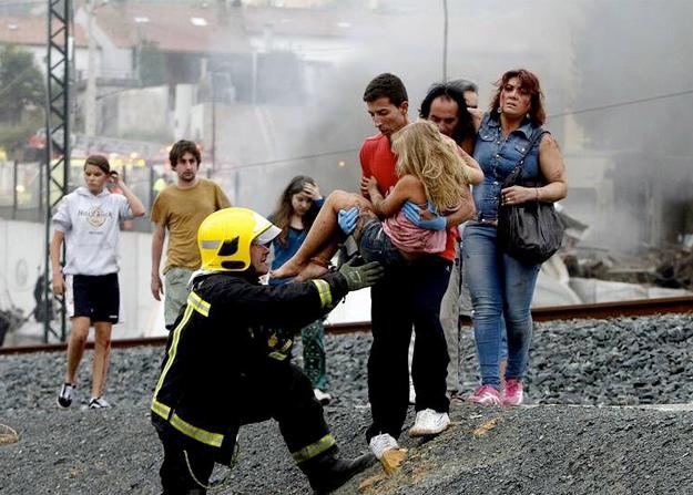 Abel Rivas fue quien en realidad sacó a la niña del tren