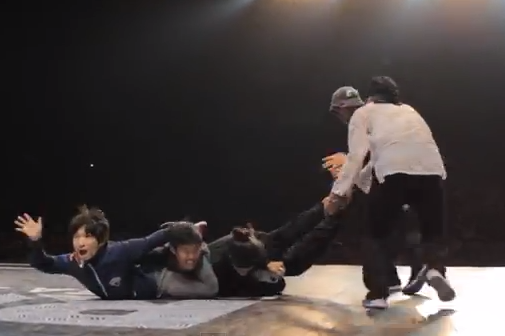 Los amos del breakdance