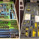 La caja de herramientas de la Estación Espacial Internacional ISS