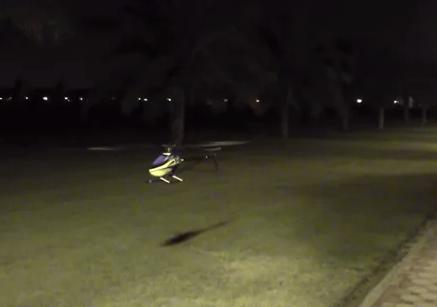 Control total de un helicóptero RC