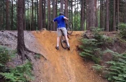 Cuando el sillín de la bici te juega una mala pasada