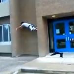 FAIL al escalar un edificio