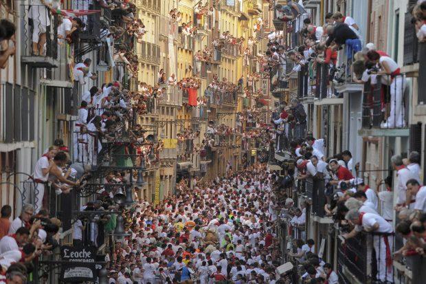 Posiblemente, la mejor foto de San Fermín de este siglo