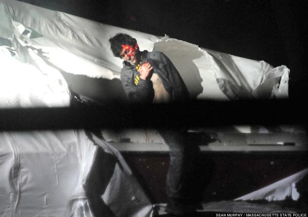 Un agente de policía desvela impactantes imágenes de la detención de Djhokhar Tsarnaev, el terrorista de los atentados de Boston