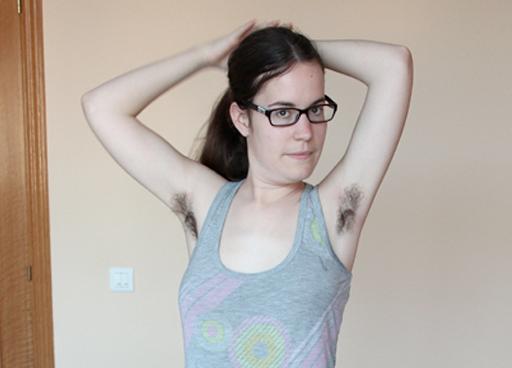 Paloma Goñi, la mujer que decidió no depilarse