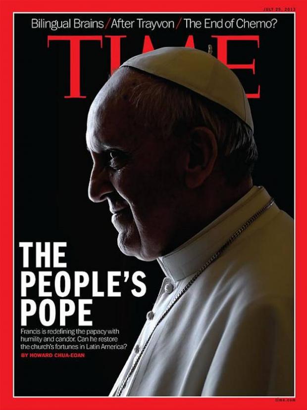 El papa Francisco con cuernos de diablo en la portada de 'Time': ¿casualidad o efecto buscado?